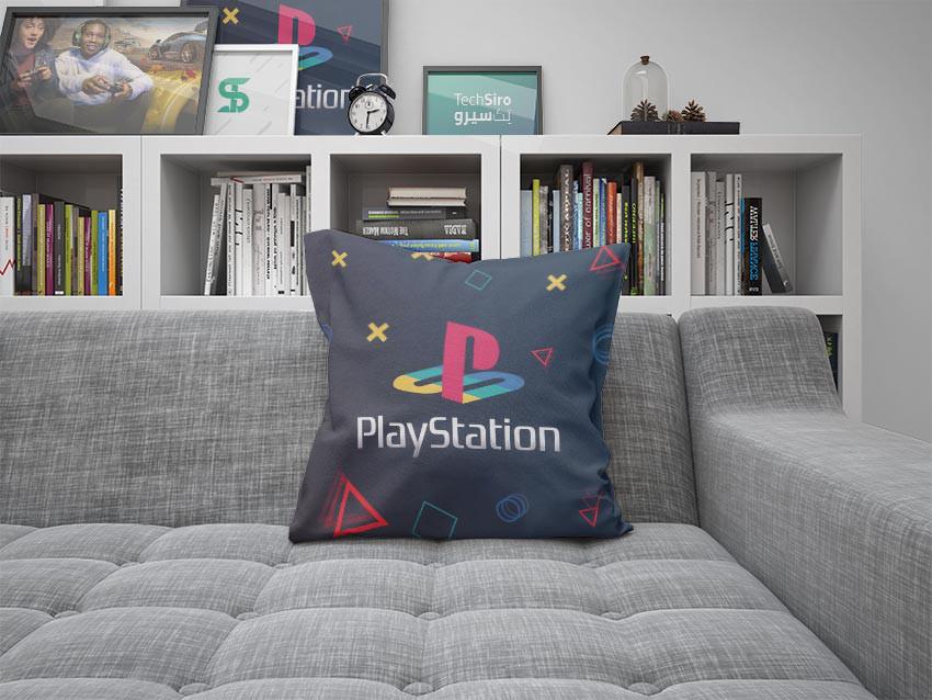 بالش طرح PlayStation Logo