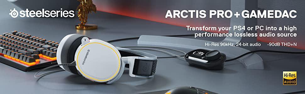 هدست Steelseries Arctis Pro + Gamedac