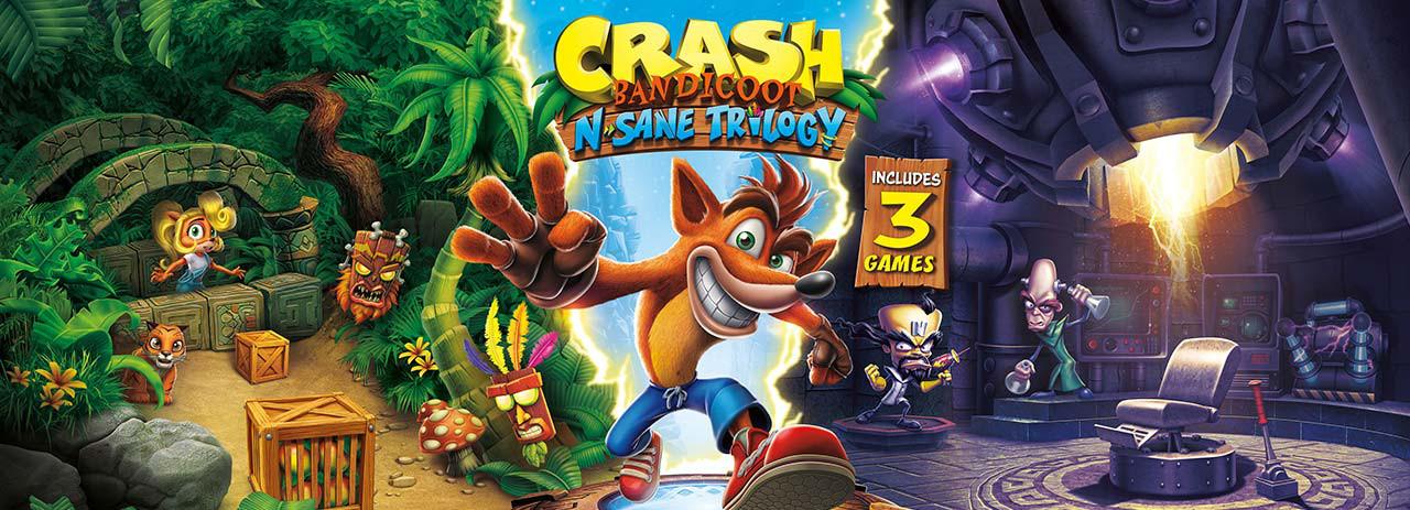 بازی Crash Bandicoot N. Sane Trilogy