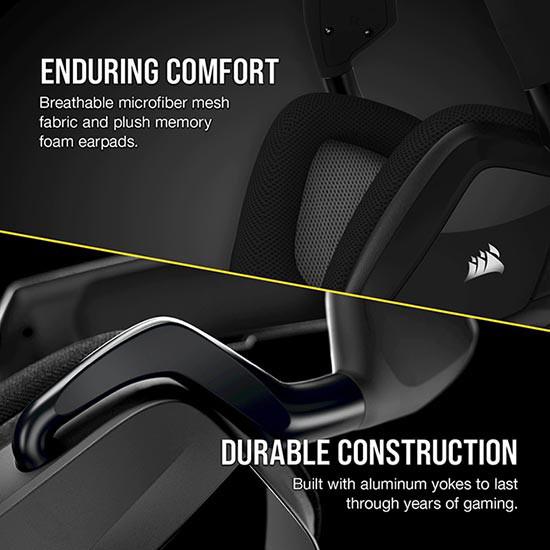 هدست گیمینگ کورسیر مدل Corsair VOID RGB Elite Wireless