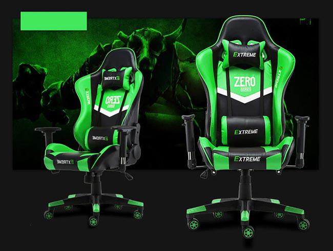 صندلی گیمینگ Extreme سری Zero - رنگ سبز