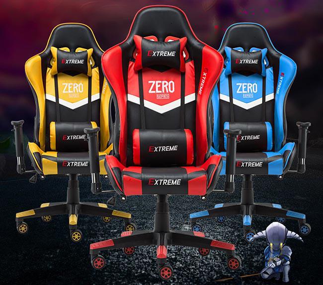 صندلی گیمینگ Extreme سری Zero - رنگ زرد
