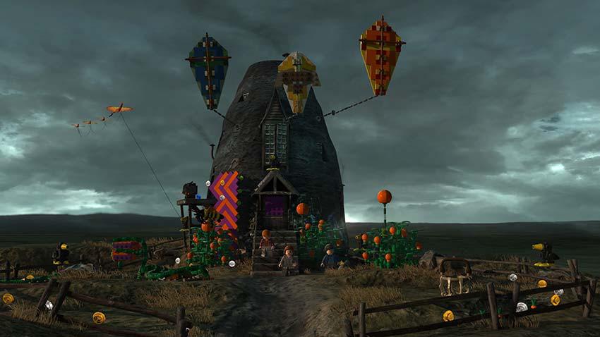 بازی LEGO Harry Potter Collection