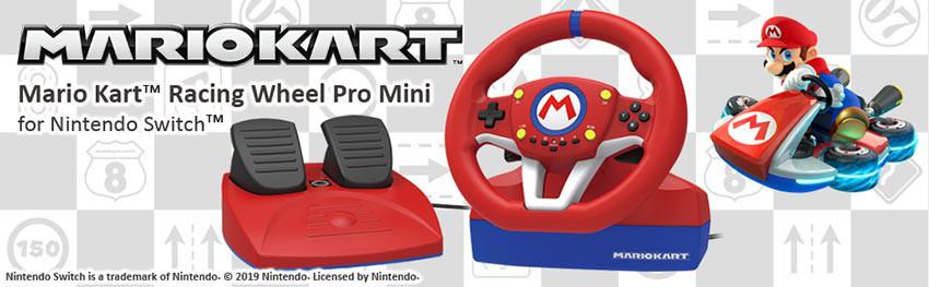 فرمان بازی Hori مدل Mario Kart Racing مناسب Nintendo Switch