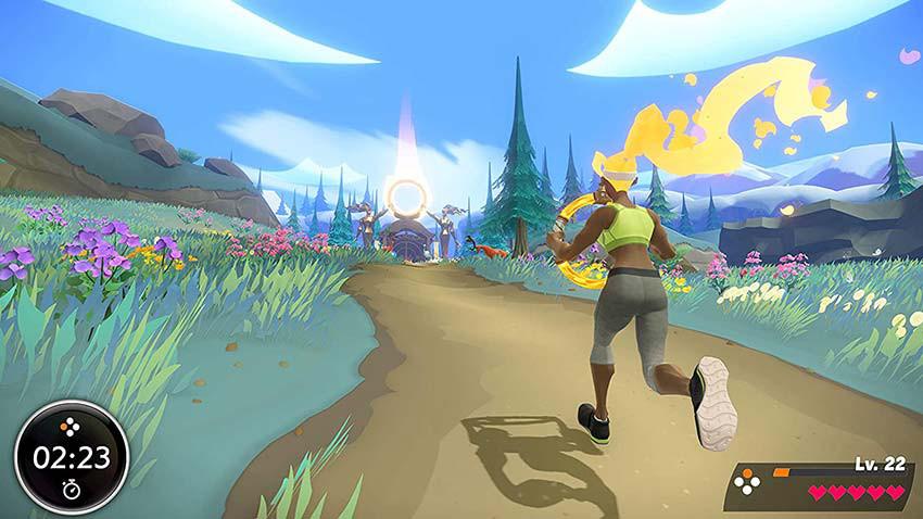 بازی Ring Fit Adventure به همراه حلقه ورشی برای Nintendo Switch
