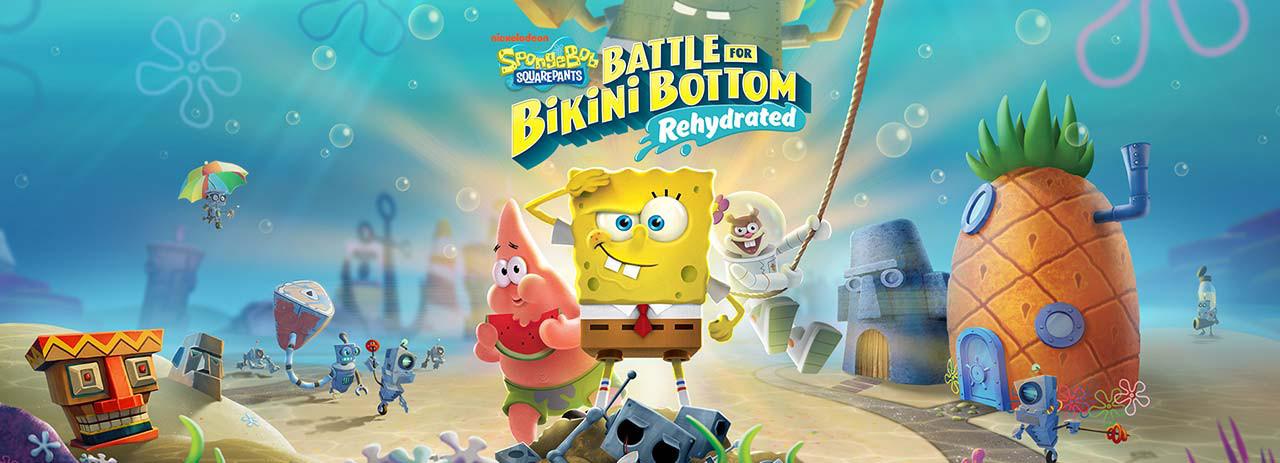 بازی SpongeBob SquarePants: Rehydrated