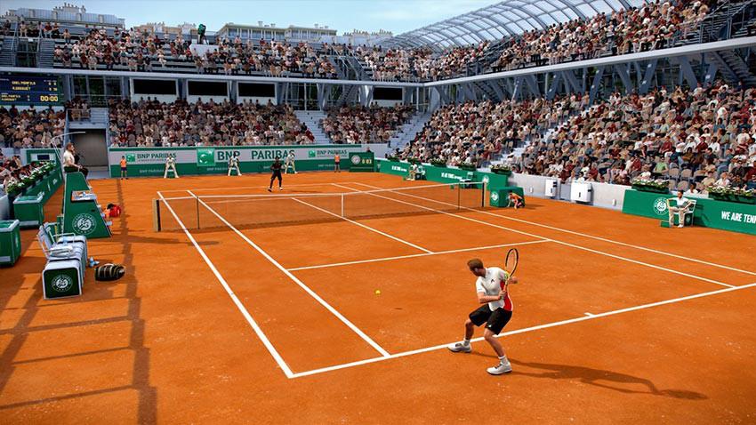 بازی Tennis World Tour نسخه Roland Garros Edition برای PS4
