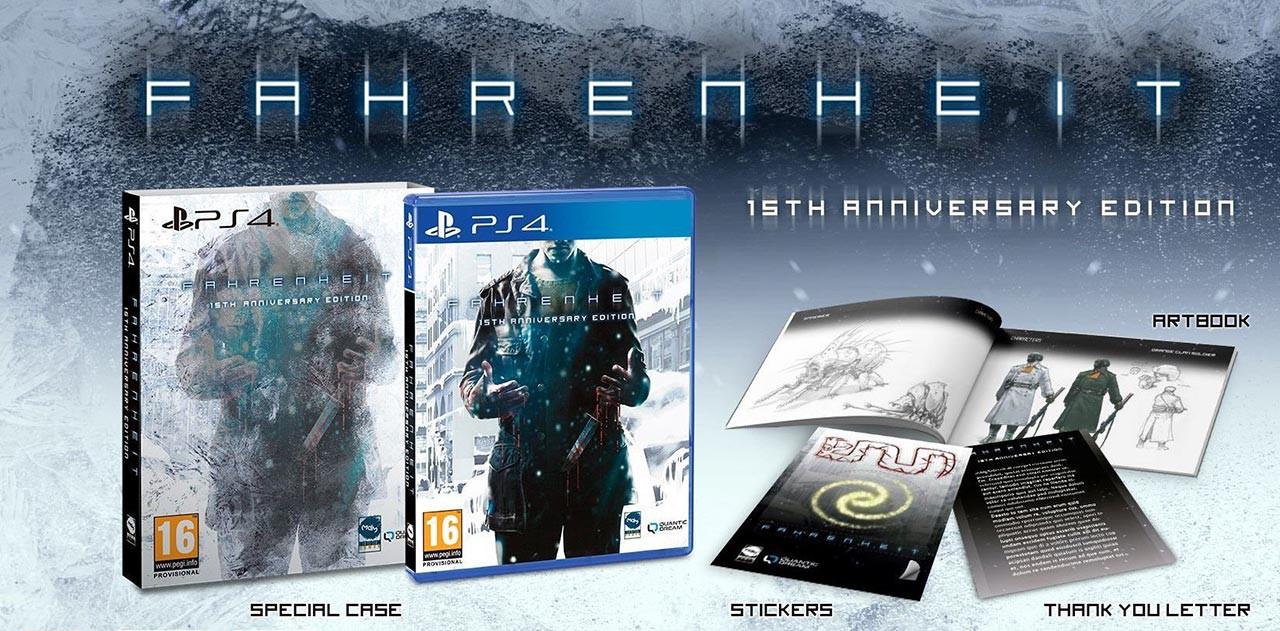 بازی Fahrenheit برای PS4