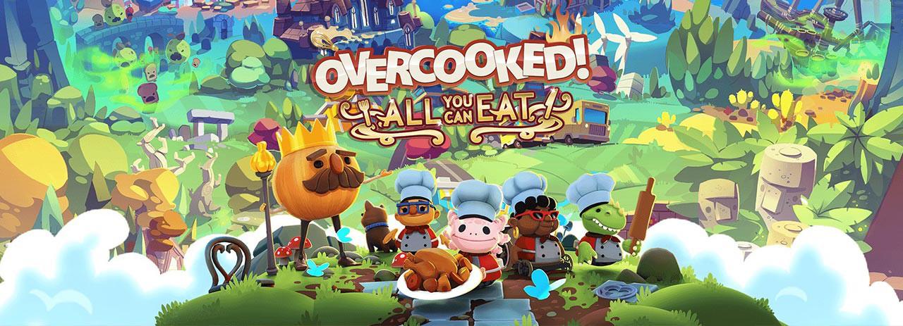بازی Overcooked! All You Can Eat