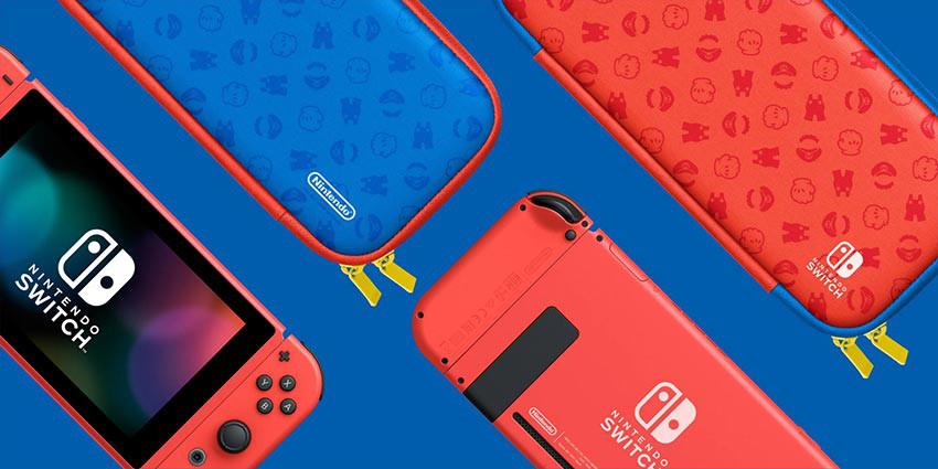 کنسول بازی Nintendo Switch باندل Mario