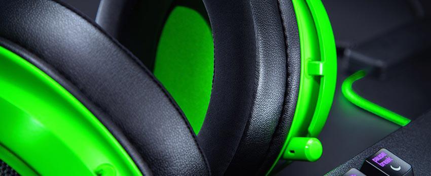 هدست گیمینگ ریزر مدل Razer Kraken - سبز