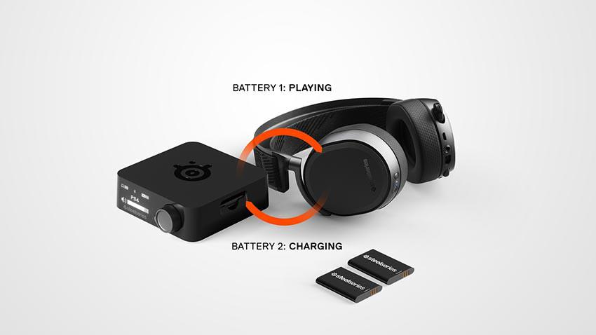 هدست گیمینگ Steelseries Arctis Pro Wireless