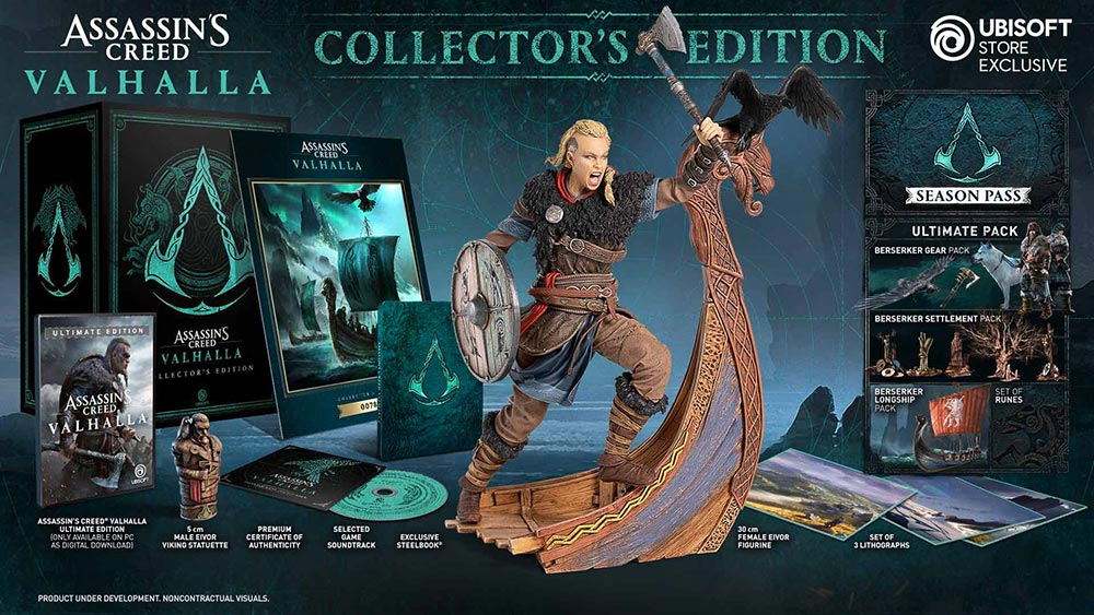 کالکتور Assassins Creed Valhalla