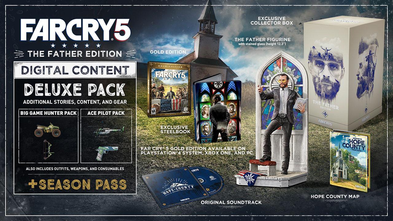 کالکتور ادیشن بازی Far Cry 5 The Father collector's Edition