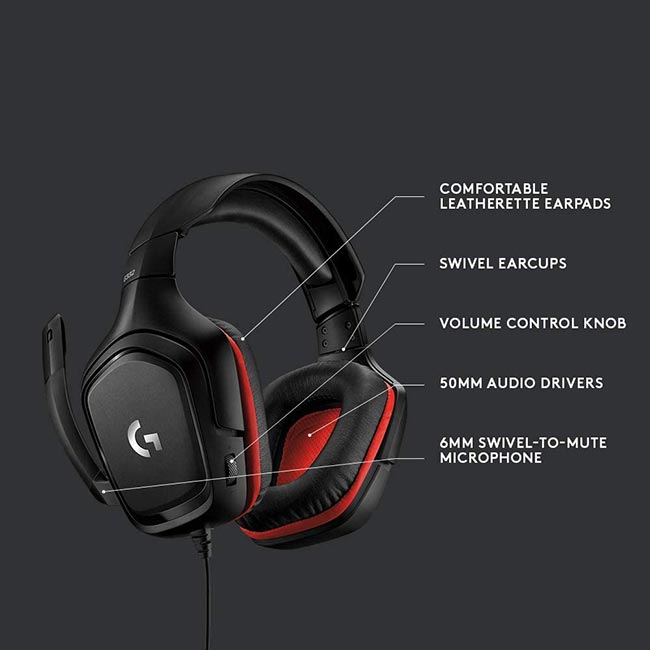 هدست گیمینگ Logitech G332