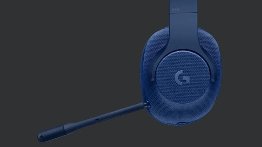 هدست Logitech G433 - آبی