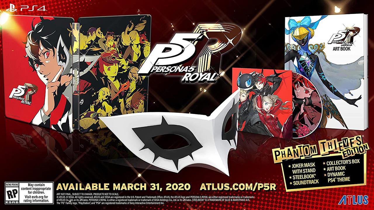 کالکتور ادیشن Persona 5 Royal Phantom Thieves Collector's Edition