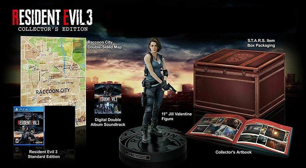 کالکتور ادیشن Resident Evil 3