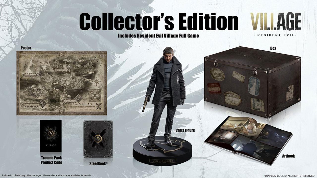 بازی Resident Evil Village نسخه Collector's Edition