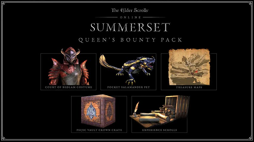 کالکتور ادیشن The Elder Scrolls Online Summerset Collector's Edition