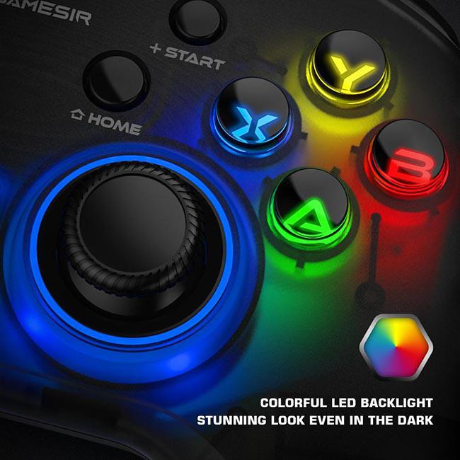 دسته بازی بی سیم GameSir مدل T4 Pro