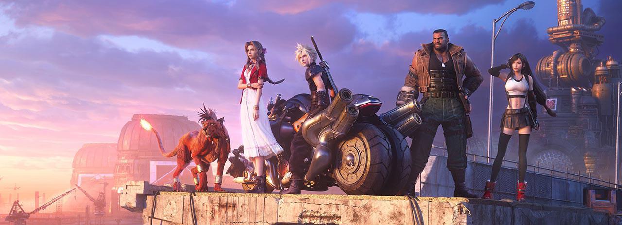 بازی Final Fantasy 7 برای PS5