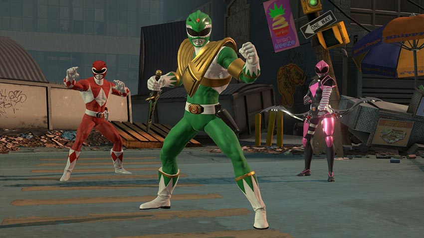 بازی Power Rangers Battle for the Grid