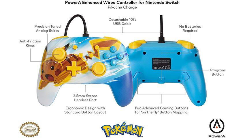 دسته PowerA Pokémon Charge