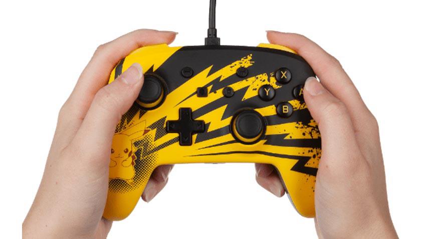 دسته PowerA Pikachu Lightning