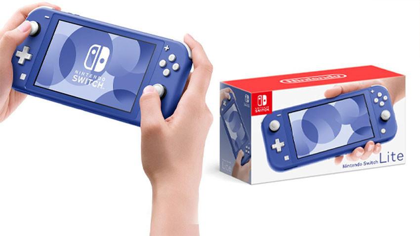 کنسول بازی نینتندو سوییچ لایت Nintendo Switch Lite - آبی