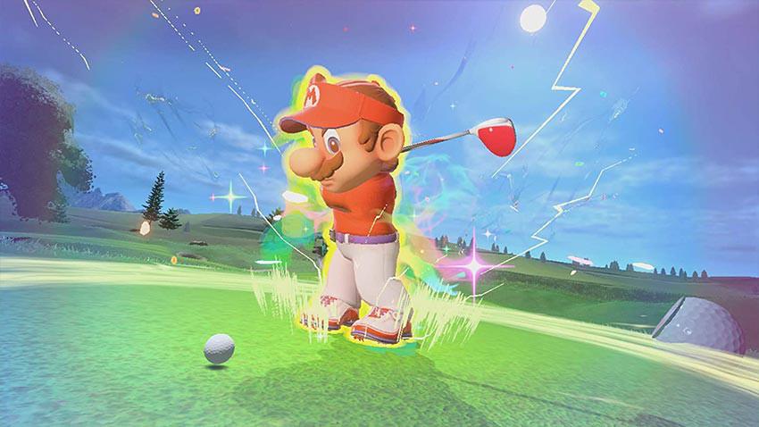 بازی Mario Golf: Super Rush