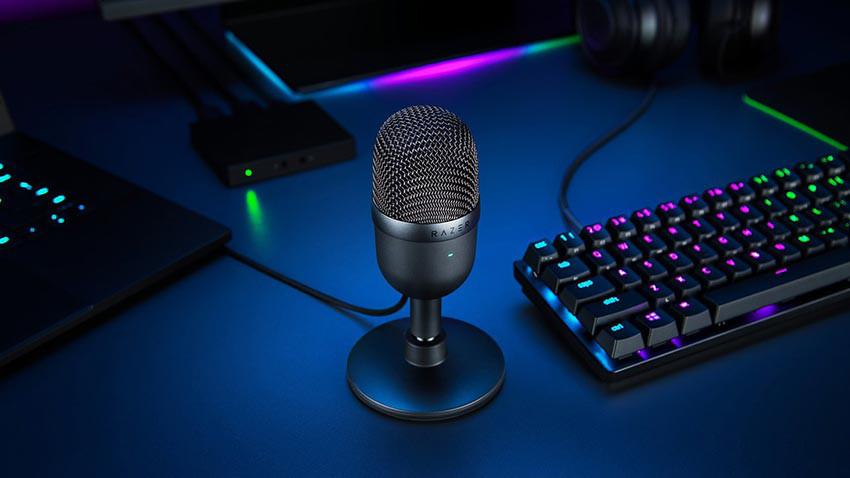 میکروفون استریم ریزر مدل Razer Seiren Mini - مشکی