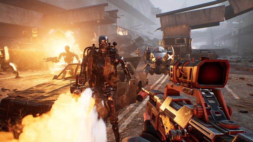 بازی Terminator: Resistance Enhanced