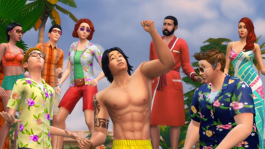 بازی The Sims 4 Plus Island Living Bundle