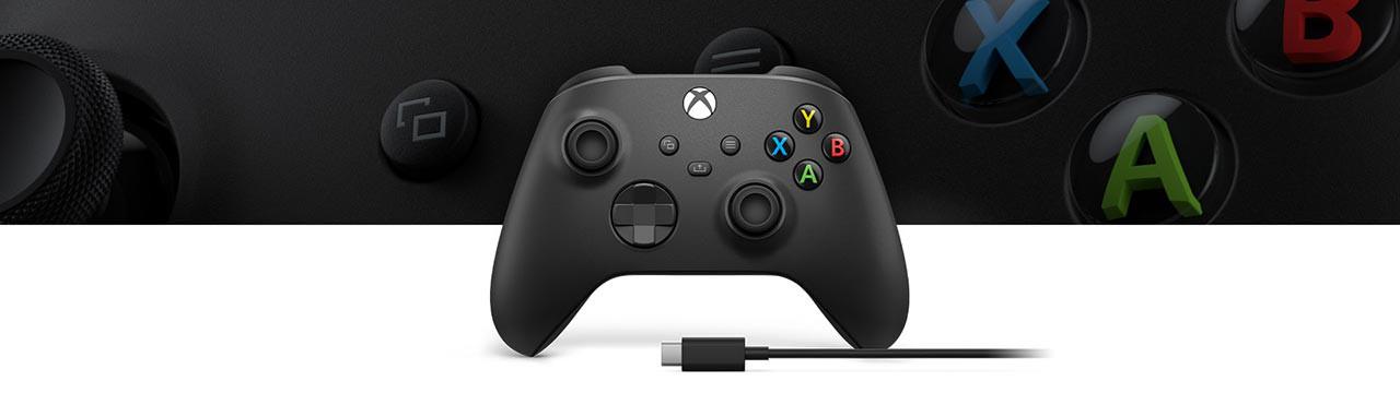 دسته بازی ایکس باکس سری جدید برای Xbox Series X / S با کابل USB-C