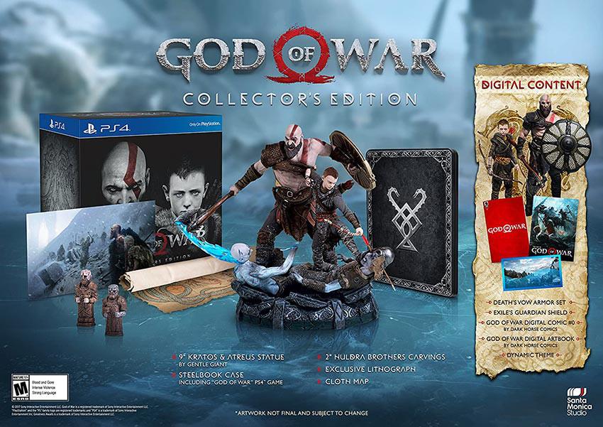 کالکتور ادیشن god of war
