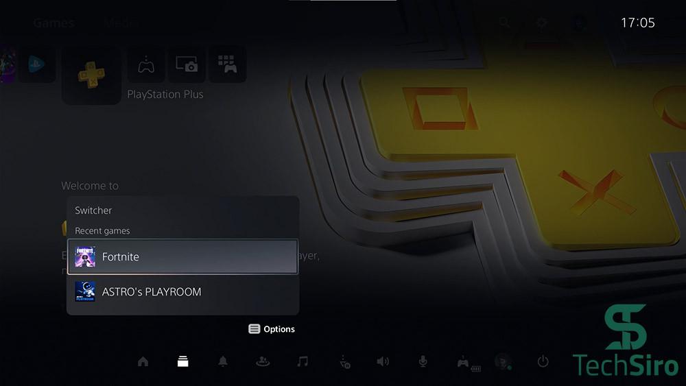 گزینه Switchers در PS5