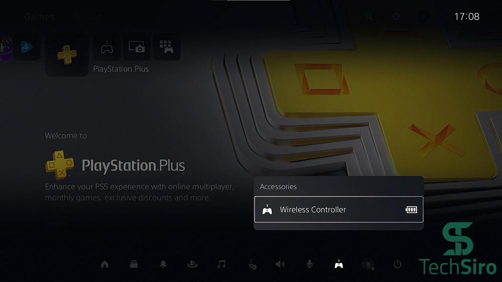 گزینه Accessories در PS5