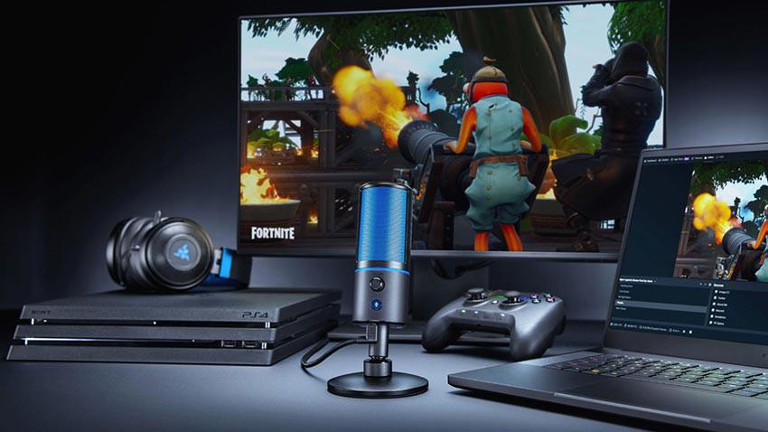 میکروفون استریم ریزر مدل Razer Seiren X نسخه PlayStation