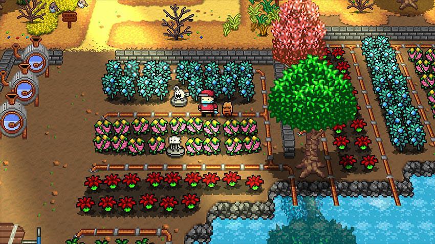 بازی Monster Harvest
