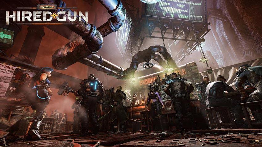 بازی Necromunda: Hired Gun