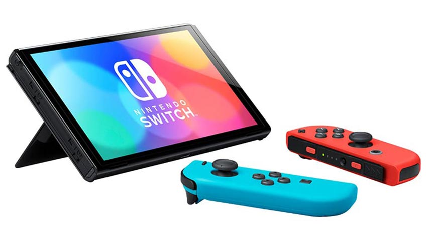 نینتندو سوییچ Nintendo Switch OLED قرمز آبی