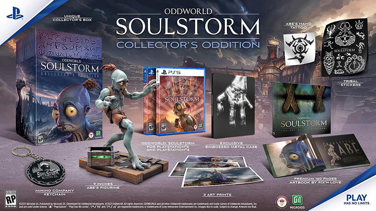 بازی Oddworld: Soulstorm Collector's Edition برای PS5
