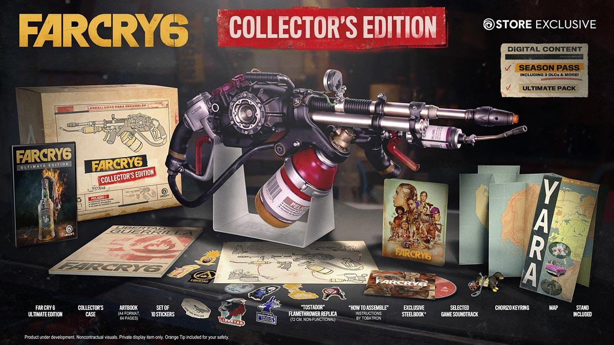بازی Far Cry 6 Collector's Edition